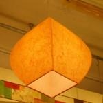 [한지등] 단지팬던트[연주황]-대각선 사이즈