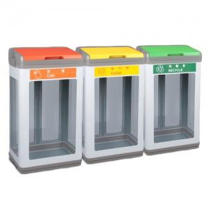 PRT-스틸 샌드 단순형 투명 분리수거함 100L가격:190,000원