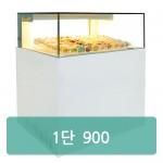 1단 제과쇼케이스 사각 뒷문형 마카롱 또는 일반제과[900×650×(900/1200)]